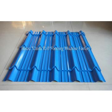 High-Class Single Layer Colored Glazed Tile Roof Plate Steel Rolling Equipment