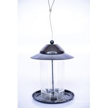 Iron Lid & Base PC Tube Cheap Fashion Design Bird Feeder (ymb6032)