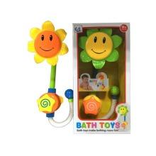 Tête de gicleur de salle de bains mignonne jouet de bain de jouet de tournesol