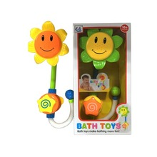 Nettes Badezimmer-Sprinkler-Kopf-Sonnenblume-Spielzeug-Bad-Spielzeug