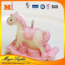 High Grade Zodiac Type Horse Shaped Birthday Candle for sale