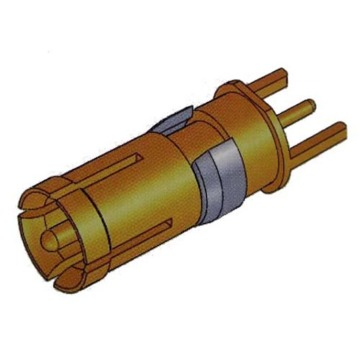 Contact vertical coaxial D-SUB Femelle