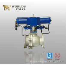 Spring Return Pneumatic Ball Valve
