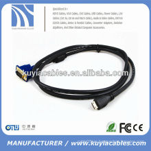 VGA A HDMI ADAPTADOR DE CABLE MACHO A MASCULINO