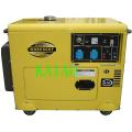 5kw Soundproof Diesel Generator Set KDE6500T Electric Start Soundproof Generator
