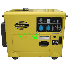 5kw Soundproof Diesel Generator Set KDE6500T Electric Start Soundproof Generator