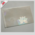 Customized Anti-fake Transparent Hologram for Id Card
