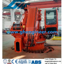 Hydraulic Offshore Support Marine Crane