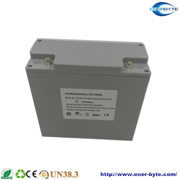 Factory Designed 12V 20ah LiFePO4 Battery Pack