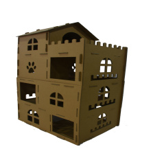 Factory Price for Cardboard Cat House Best Indoor Cardboard Cat Playhouse export to Congo, The Democratic Republic Of The Manufacturers