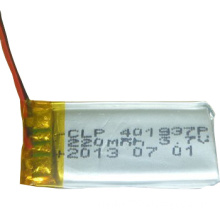 Lithium battery 3.7V 220mAh li polymer battery-rechargeable battery