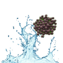 Agent solide de traitement des eaux usées pour les aquatiques