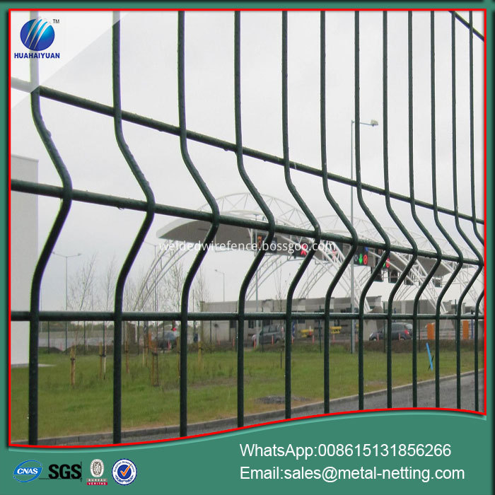 2D Wire Mesh Fence