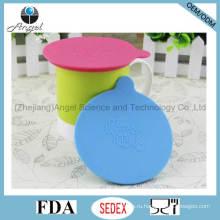 Праздничная крышка крышки чашки силикона чашки, крышка крышки кружки силикона SL12