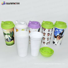 Sunmeta New plastic insulated double walled coffee mugs---manufacturer