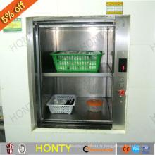 Ascenseur de nourriture de cuisine d'hôtel avec la machine à CA 100kgs 0.4m / s