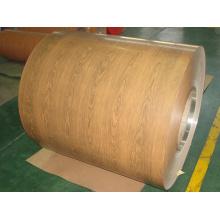 Bobina recubierta de aluminio de 0,25-4,0 mm de espesor con diferentes diseños