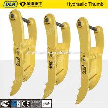 pouce hydraulique d'excavatrice de haute qualité pour la pelle 11-16ton