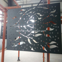 Laser Cut Outdoor Metal Screen