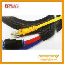 Self Closing Braided Cable Protection Sleeve Electric Wrap
