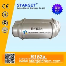 GÁS REFRIGERANTE de alta pureza R152a com bom preço