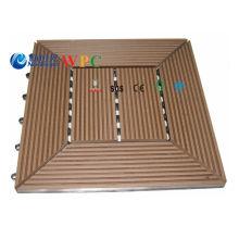 305 * 305 * 22mm Plástico de madeira Composite DIY Decking Azulejo com CE, Fsg SGS, Certificado