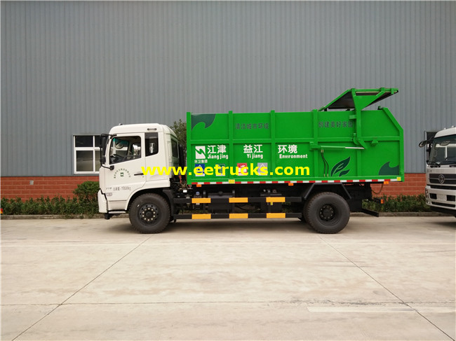 8Ton Docking Refuse Collector Trucks