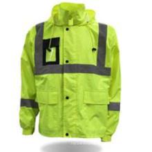 Vestuário de protecção grossista segurança Parka alta visibilidade jaqueta