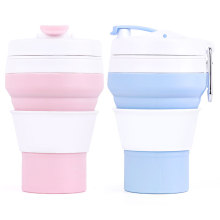 Collapsible Silicone Folding Custom Silicone Coffee Cup New Items