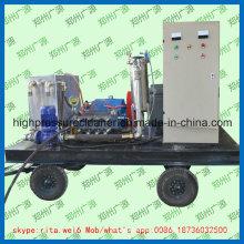 Máquina de lavar de alta pressão industrial do jato de água do líquido de limpeza da tubulação do tubo