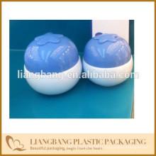 Embalagem cosmética com frasco de creme