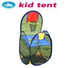 Children playing basketball tent