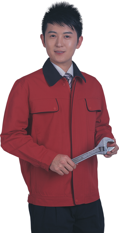 Polyester/cotton worker  jacket