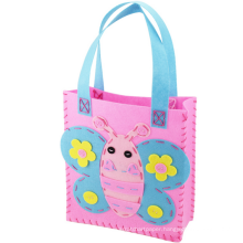 2015 arts and crafts for kids handmade Felt Fabric DIY handbag