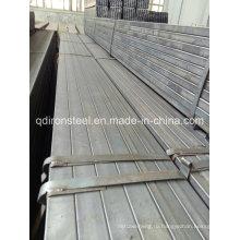 Холоднокатаные стальные трубы квадратного сечения с тонкой толщиной стенки