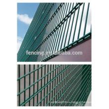 Двойной забор Nylofor 2D, Двойной проволочный сетчатый забор, сдвоенный сварочный проволочный забор