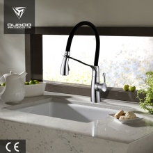 Chrome Finished Mixer Faucet With Flexible Pullout Spray