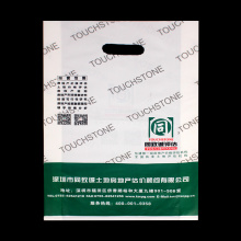 Heat Seal Carrier Custom Logo Printed Bag