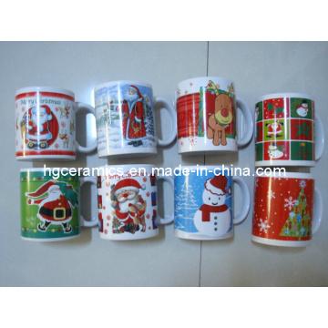 Christmas Pringting Mug, 11oz Ceramic Mug
