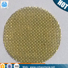0.25'' 0.375'' 0.625'' 60 mesh0.15mm brass tobacco glass smoking pipes screen filters (free sample)