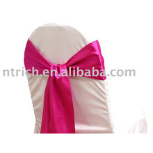Satin chair sash, chair ties, wraps