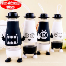 Factory Price Creative Design Sport Glass Water Bottle Gift Cup