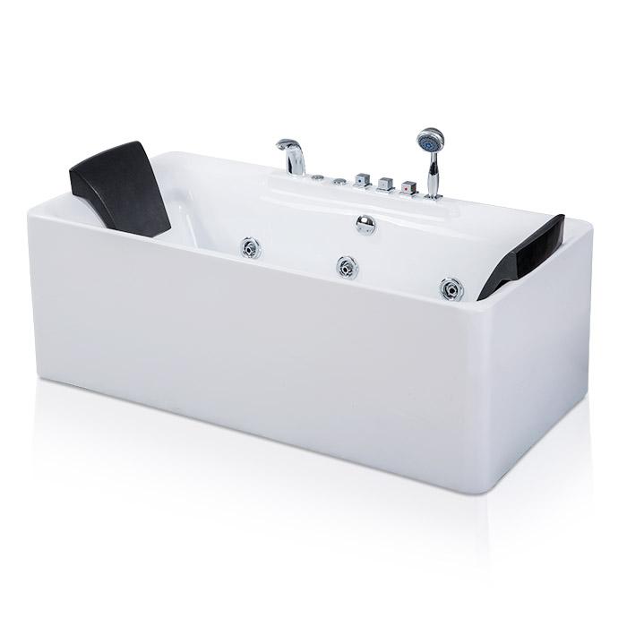 China Acero One-Piece Freestanding Whirlpool Bathtub Manufacturers