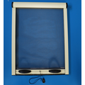 Aluminum retractable window screens roller window