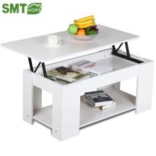 Mesa de centro moderna estilo simples de madeira