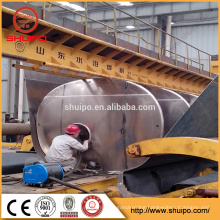 steel plate roll forming machine