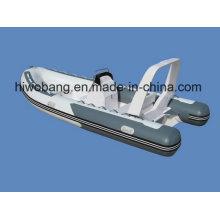 4.7m aufblasbares Fiberglas-Boot der Rippe 470 für Seesport