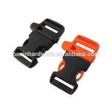 Fashion High Quality Plastic Survival Whistle Release Buckle