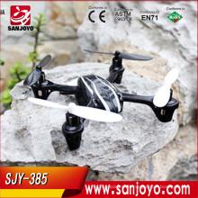 6 eixos 2.4g 4ch controle remoto o vôo 3D com sistema gyro X rc mini quadcopter !!