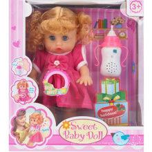 Смех музыки с произношением бутылки Baby Doll